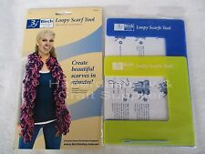 BIRCH SCARF TOOL MAKE YOUR OWN STYLISH LOOPY DESIGN
