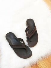 Chaco Brown Walking Outdoor Flip Flop Thongs Sport Sandals Woman's Size 8