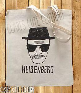 BREAKING BAD HEISENBERG TOTE/SHOPPING BAGS