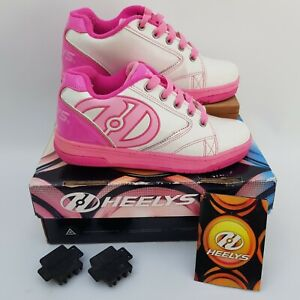 Heelys Propel 2.0 Pink and White Childs Skating Shoes UK Size 3
