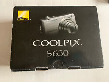 Nikon Coolpix S630 12.0MP 7x Optical Camera Very Good Condition BOX Charger