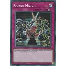 Yu-Gi-Oh TCG: Gozen Match - HISU-EN060 - Super Rare - Trap Card - 1st Edition