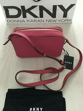 DKNY Women's Pink CrossBody Leather Camera Bag & Dustbag RRP £145 : Brand New