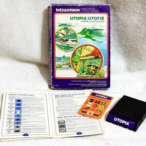INTELLIVISION UTOPIA GAME CARTRIDGE  1981