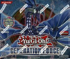 YUGIOH GENERATION FORCE BOOSTER 12 BOX CASE BLOWOUT CARDS