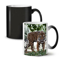 Tiger Wild Nature NEW Colour Changing Tea Coffee Mug 11 oz | Wellcoda
