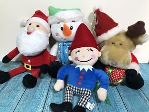 George Hone - Play Makers - Tiger Christmas Plush Soft Toy Bundle