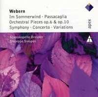Giuseppe Sinopoli - Webern: Im Sommerwind, Orches Neuf CD