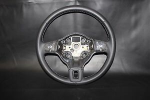 ORIGINAL LENKRAD LEDERLENKRAD VW GOLF 5 6 PLUS SCIROCCO 5K NEU BEZOGEN V50
