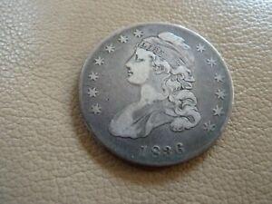 1836 Capped Bust Half Dollar 50C - Nice Detail