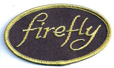 "Serenity/Firefly Oval Logo 3.5"" Embroidered Patch- Mailed from Usa (Sepa-009A)"