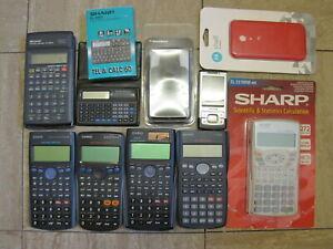 Casio, Sharp Calculator Collection.