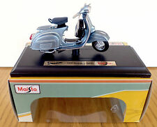 Maisto vespa scooter modèle 1:18 moulé sous pression scooter, vespa 150 super 1965