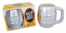 Beer Keg Mug - 10oz Ceramic with Chrome Finish! …302644 9913