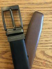 Perry Ellis Genuine Leather Belt Reversible 32/80