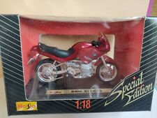 MAISTO MOTORCYCLE BMW R1100 RS Bike - RED 1:18 - new