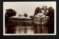 Leamington Spa - Opening of the New Bandstand 1909 - real photographic postcard
