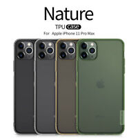 Nillkin Nature TPU, Clear Silicone Soft Case Cover for Apple iPhone 11 Pro Max