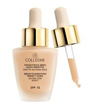 Collistar Fondotinta Siero Nudo perfetto 2 Beige Spf15 30ml - Foundation