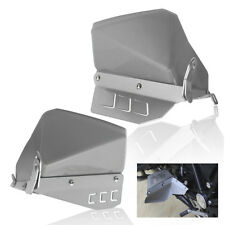 Silver Foot Feet Splash Guard Plate Cover Protector for 2004-2012 BMW R1200GS