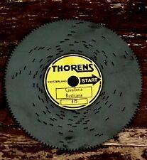 Cavalleria Rustica Thorens Metal Disc Swiss Vtg Reuge Music Box Recording #415