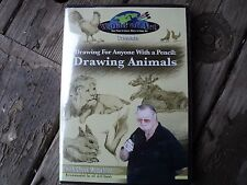 DRAWING FOR ANYONE WITH A PENCIL:DRAWING ANIMALS WITH CHUCK MCLACHLAN
