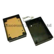 88x59x30mm negro ABS plástico Gabinete caja pequeña del proyecto De Circuitos Electrónicos