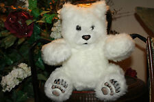 "Tiger Electronics Luv Cubs 15"" White Plush BABY POLAR BEAR Fur Real Friends #G3"