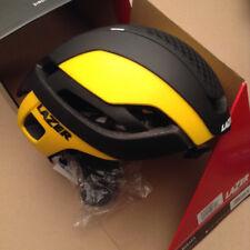 Lazer Bullet Aero Black Yellow Helmet Large 58-61cm New