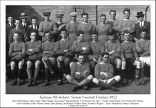 Galway All-Ireland Senior Football Finalists 1922: GAA Print