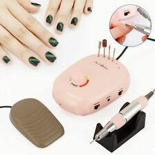 Nail Drill Machine Manicure Electric Accessory Speed Control Pedicure Tools Pink