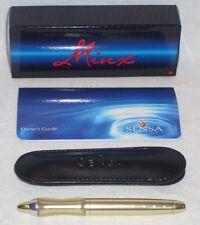SENSA MINX GENEVA GOLD PLASMA GEL BALLPOINT PEN 32307 NEW IN THE BOX Great Gifts