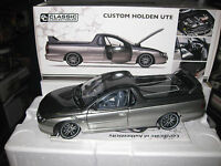 1/18 CLASSIC CARLECTABLES CUSTOM HOLDEN UTE LTD ED OF 750 AWESOME MODEL 18622