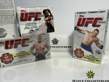 2010 Topps UFC RETAIL BOOSTER FACTORY SEALED