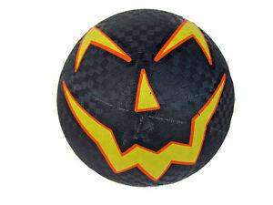 "Franklin Trick-Or-Treat Jack-O-Lantern 8.5"" Rubber Playground Ball - Halloween"