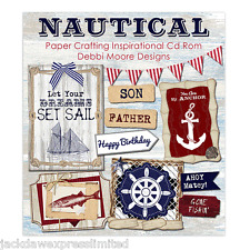 Debbi Moore Designs Nautical Paper Crafting Inspirational CD Rom (326235)