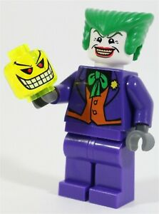 RARE LEGO DC ORIGINAL JOKER MINIFIGURE BATMAN 7782 7888 - GENUINE