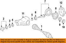 HYUNDAI OEM 10-16 Genesis Coupe Rear-Axle Seals 530683C000