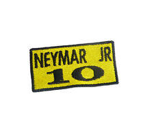 Ecusson patch football NEYMAR JR 10 thermocollant GM