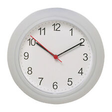 Ikea wall clocks ebay new ikea rusch battery operated white wall clock gumiabroncs Gallery