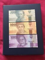 Indonesia Rupiah Various Denomination Banknotes. Ideal For Note Collection.