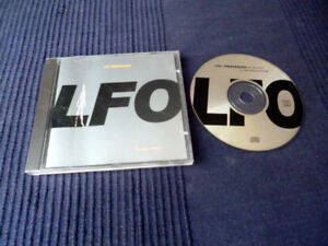 CD LFO - Frequencies WARP RECORDS 1991 Gez Varley & Mark Bell