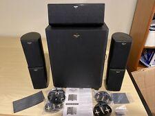 Klipsch Hd Theater 500 Home Theater Speaker System Box Great Sound