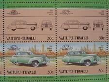 1938 GRAHAM Car 50-Stamp Sheet / Auto 100 Leaders of the World
