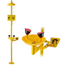 CE High quality Coating Combination Shower Station and Eye Wash Eyewash Station