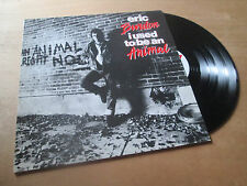 ERIC BURDON - i used to be an animal - ANIMALS - MAZERES Lp 1988
