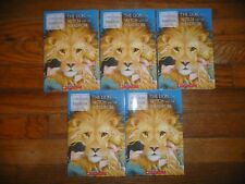 NEW Lot 5 copies THE LION WITCH & WARDROBE Lewis GUIDED READING Lit Circle