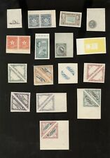 LIBERIA, Assortment of Progressive Proofs of Stamps