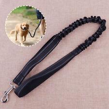 Adjustable Elastic Dog Pet Walking Leads Stretch Rope Leash Traction Belt ss