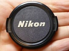 Nikon Front lens Cap - 52mm - Genuine Vintage excellent condition